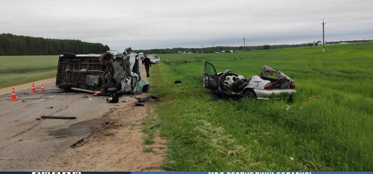 Rover вылетел на встречку и врезался в маршрутку в Узденском районе: два человека погибли, еще два — в больнице