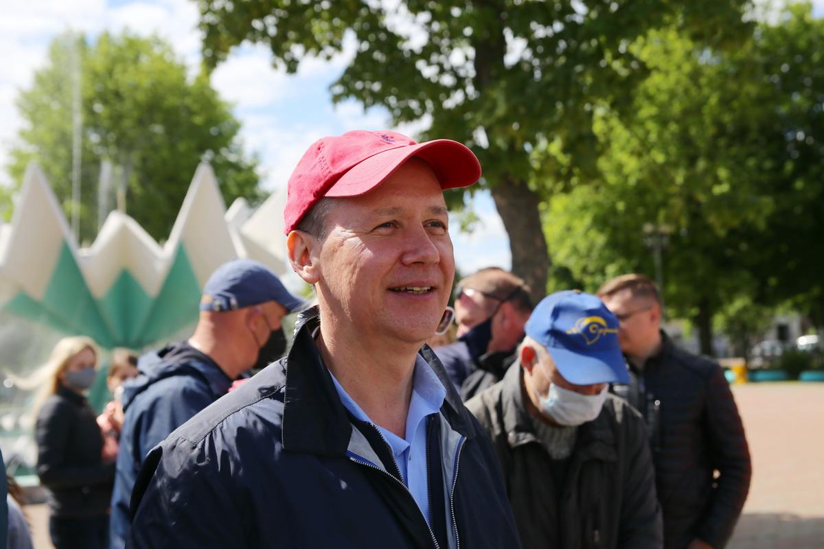 Валерий Цепкало, потенциальный кандидат в президенты.