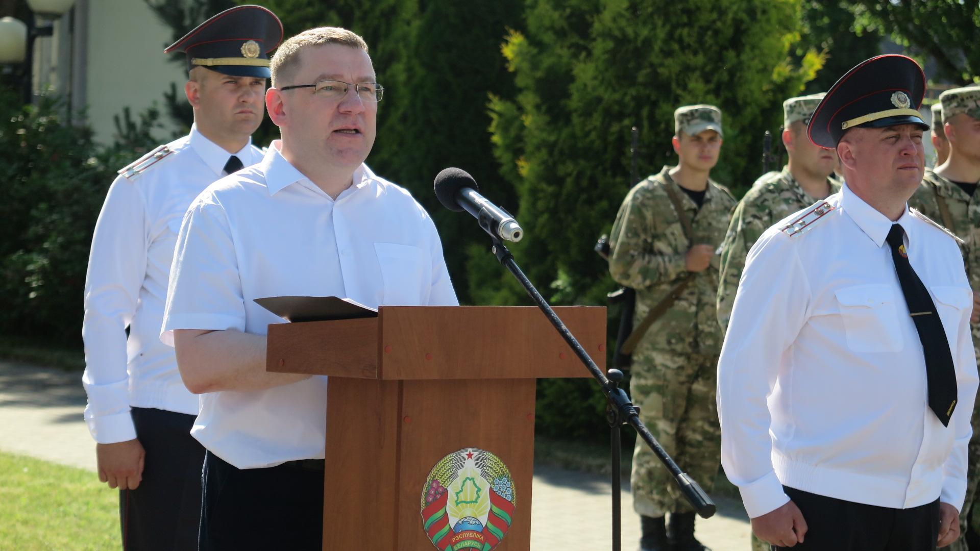 Андрей Семашко, управляющий делами Барановичского городского исполнительного комитета. Фото: Диана КОСЯКИНА
