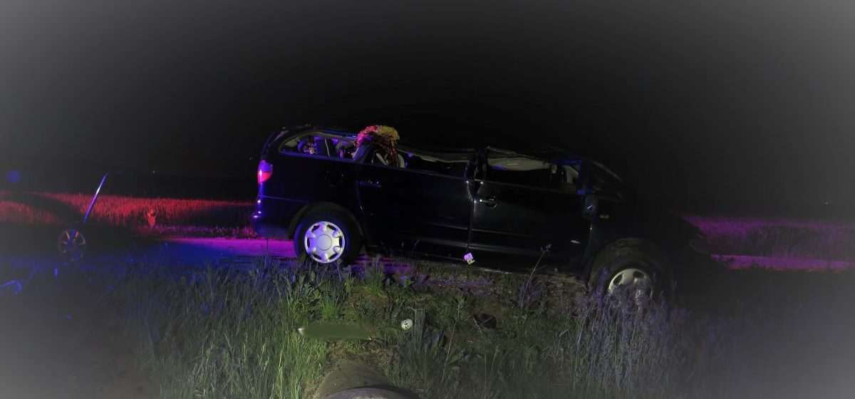 Ford вылетел в кювет и перевернулся в Гродненском районе – погибла маленькая девочка