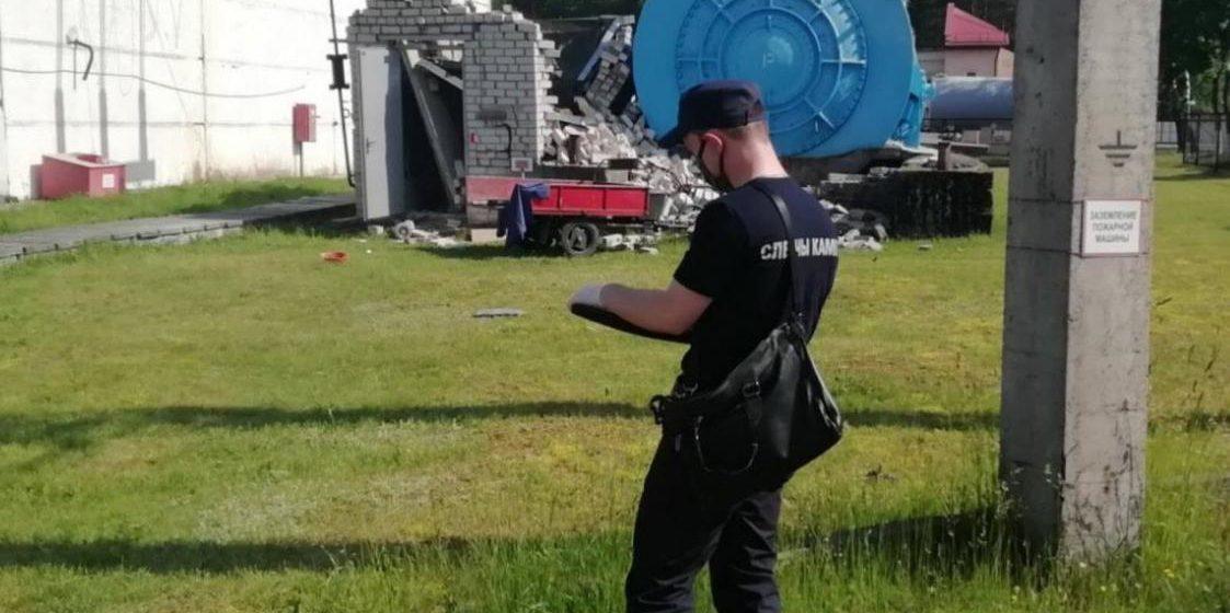 В результате разрушения здания на электроподстанции в Гродненском районе шесть человек с ожогами попали в больницу