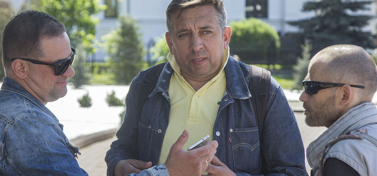 Под Пуховичами задержали брестского блогера Сергея Петрухина