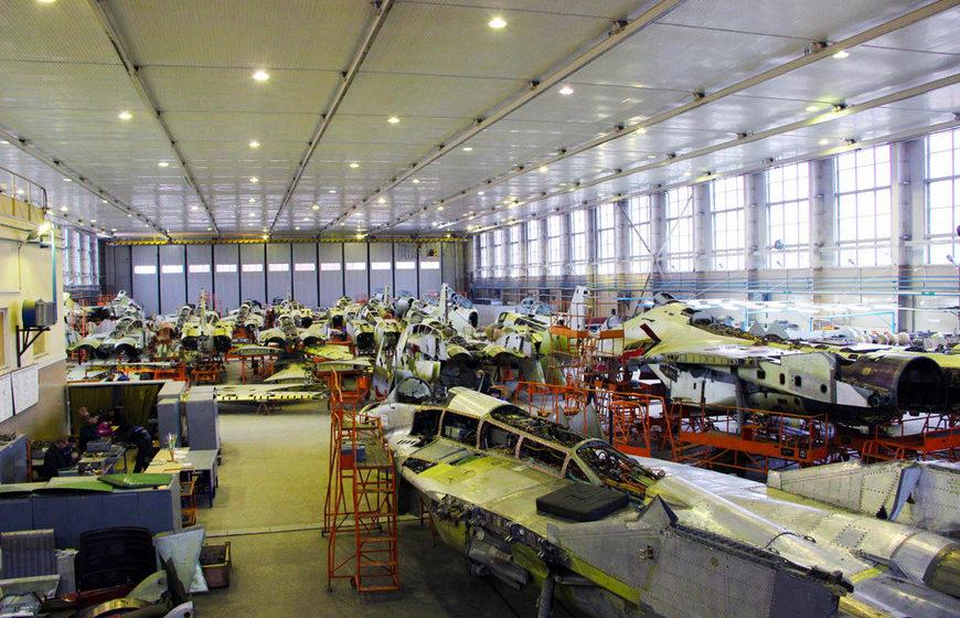 Авиаремонтный завод. Фото: 558arp.by