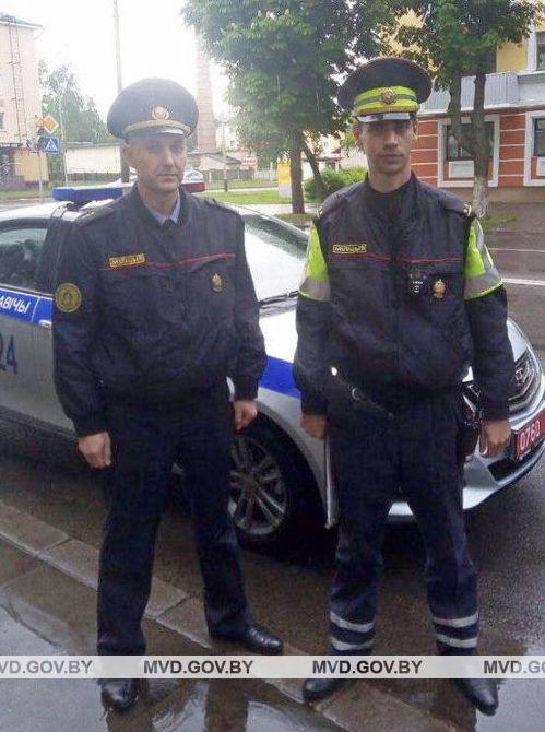 Вадим Новиков (слева). Фото: УВД Брестского облисполкома