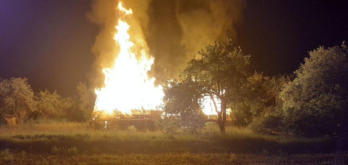 Сразу четыре пожара в один день случилось в Барановичском районе. Пришлось задействовать резервную технику