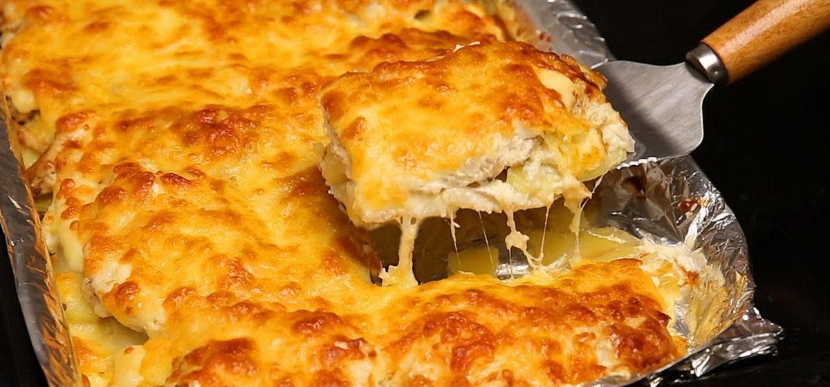Вкусно и просто. Картошка с мясом по-французски в духовке