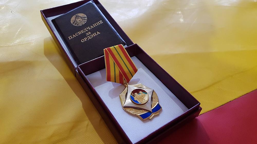 Лукашенко наградил орденом Почета слесаря Барановичского локомотивного депо