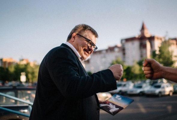 «Это давление на меня». Бабарико прокомментировал обыск в «Белгазпромбанке»