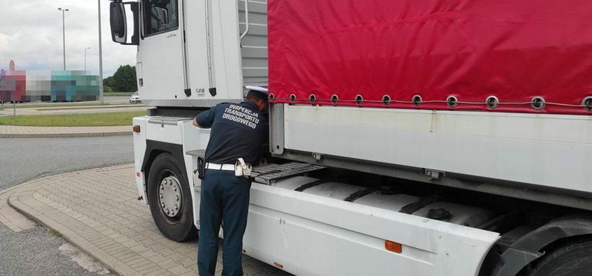 Белорусский дальнобойщик ехал «на магните» по Польше. Он задержан, ему грозит до 5 лет тюрьмы