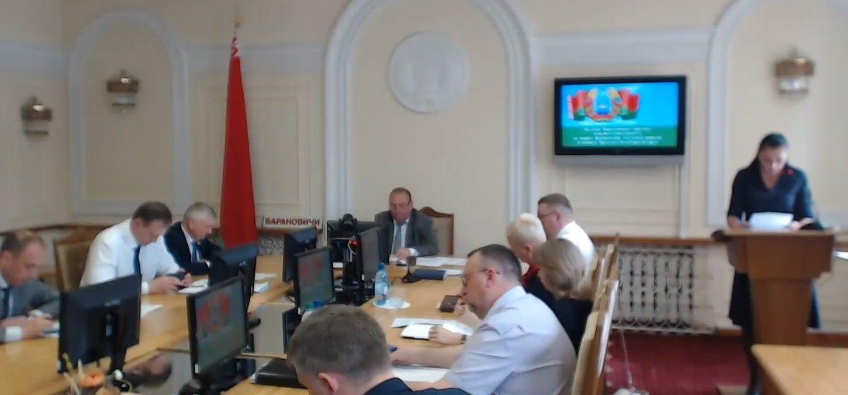 Как формировали участковые комиссии в Барановичах. Видео заседания в горисполкоме