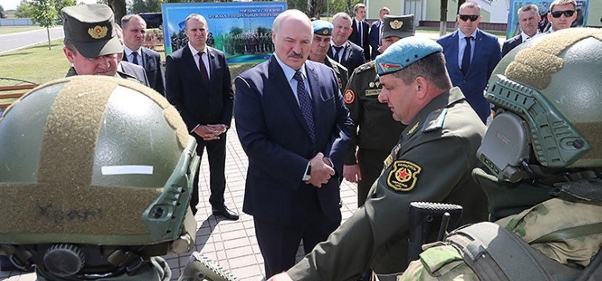 Лукашенко: После 2010 года я понял, что надо иметь в запасе подготовленных бойцов
