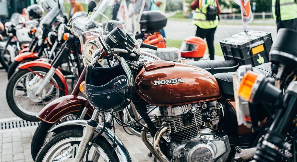 В Мирском замке пройдет выставка ретро-мотоциклов