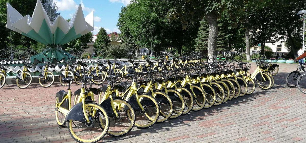 Прокат велосипедов появился в Барановичах