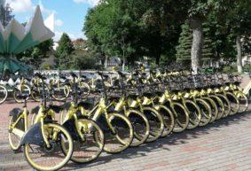 Вернутся ли в Барановичи желтые велосипеды?