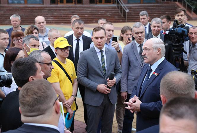Фото: пресс-служба президента Беларуси