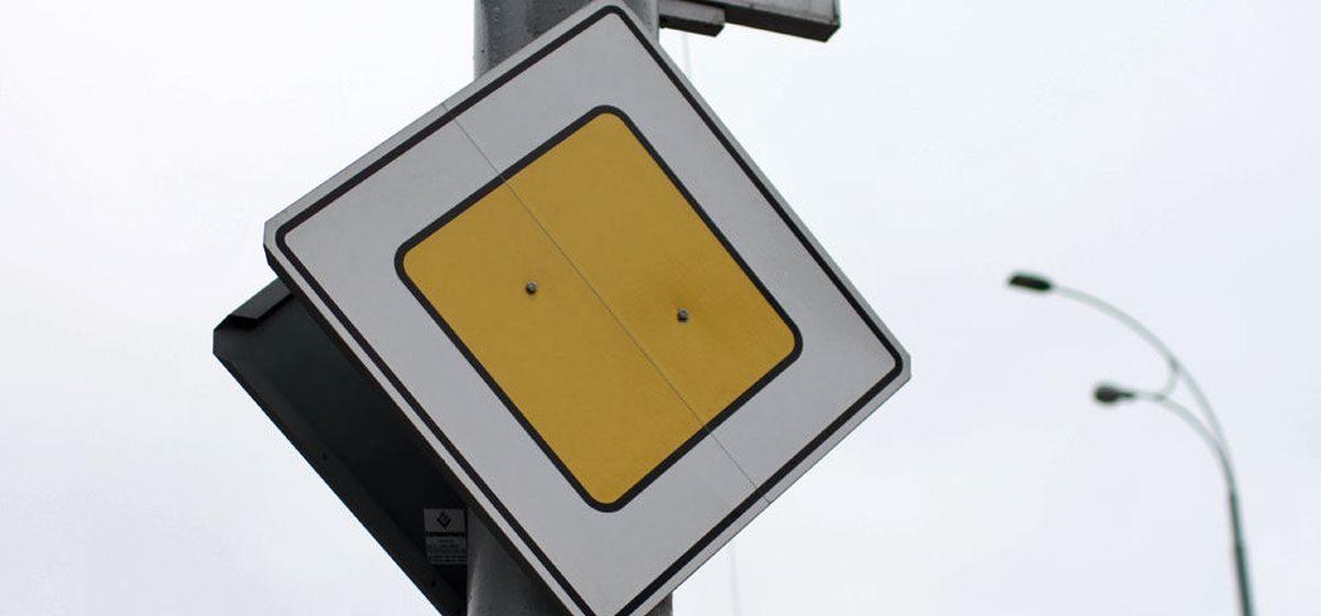 Направление главной дороги изменили на одной из улиц Барановичей