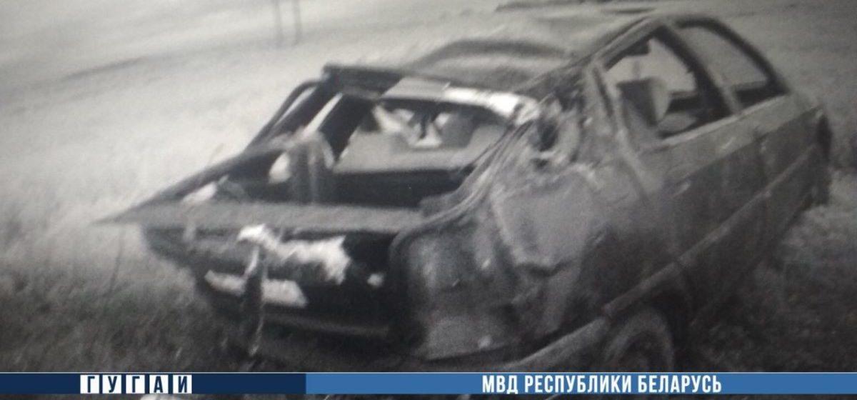 Citroen вылетел в кювет и перевернулся в Смолевичском районе: пострадали четыре человека, в том числе трое детей