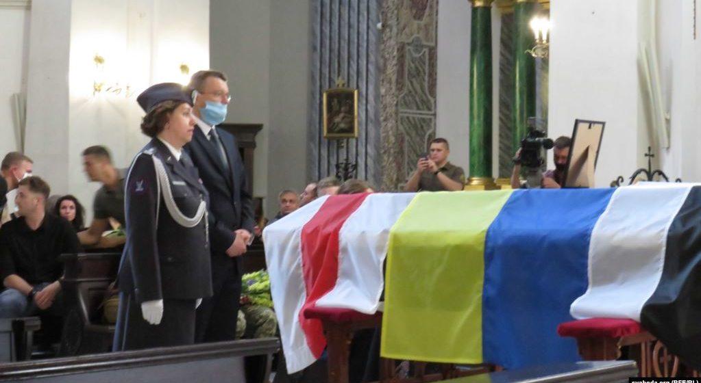 В Киеве прощаются с медиком-белорусом, который погиб от обстрела на Донбассе. ФОТО