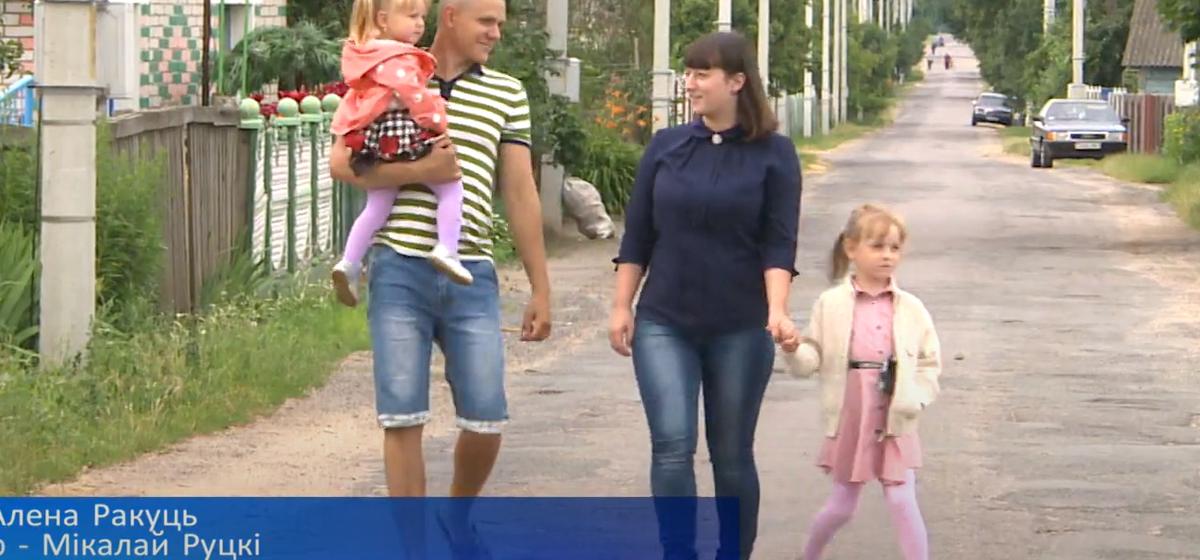 Семья из Барановичского района стала «Властелином села» Брестчины. На БТ показали, как она живет. Видео