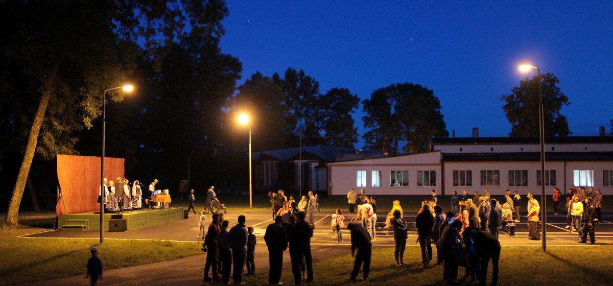 Площадка за сельским ДК. Где можно проводить массовые мероприятия, определил Барановичский райисполком