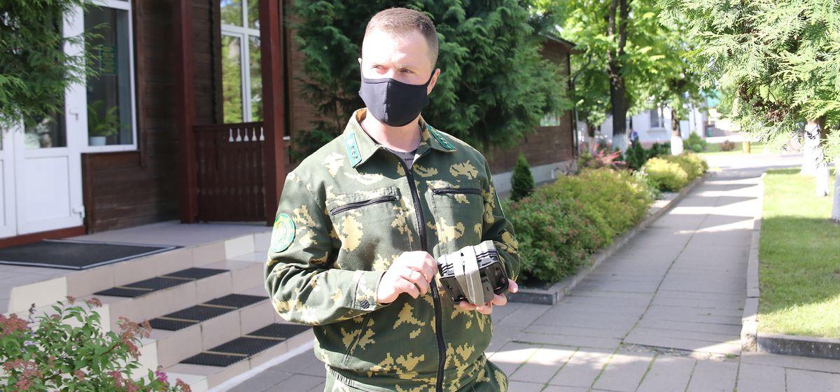 Александр Селивончик, инженер по охране и защите леса Барановичского лесхоза. Фото: Андрей БОЛКО
