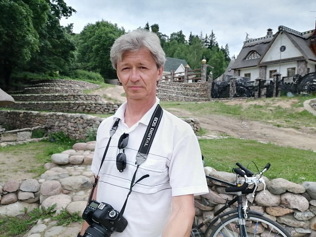 Фотокорреспондент Intex-press Андрей Болко. Фото: личный архив