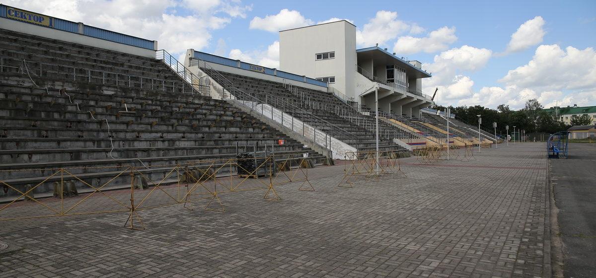 Началась реконструкция стадиона в Барановичах. Что там происходит сейчас