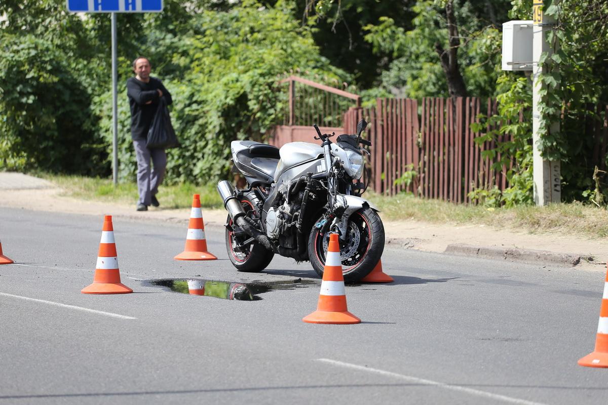 18 июля на улице Пролетарской в ДТП погиб Евгений Дрозд.  Фото: Андрей БОЛКО