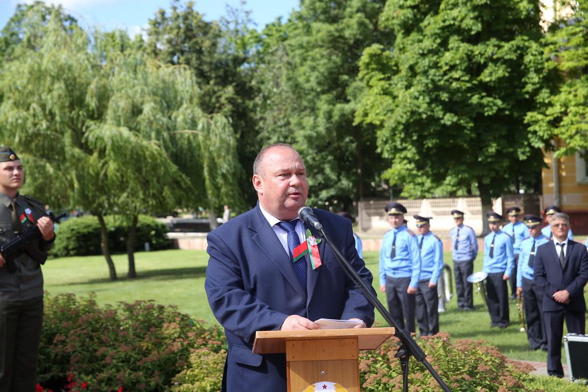 Юрий Громаковский, председатель Баранвоичского горисполкома. Фото: Андрей БОЛКО