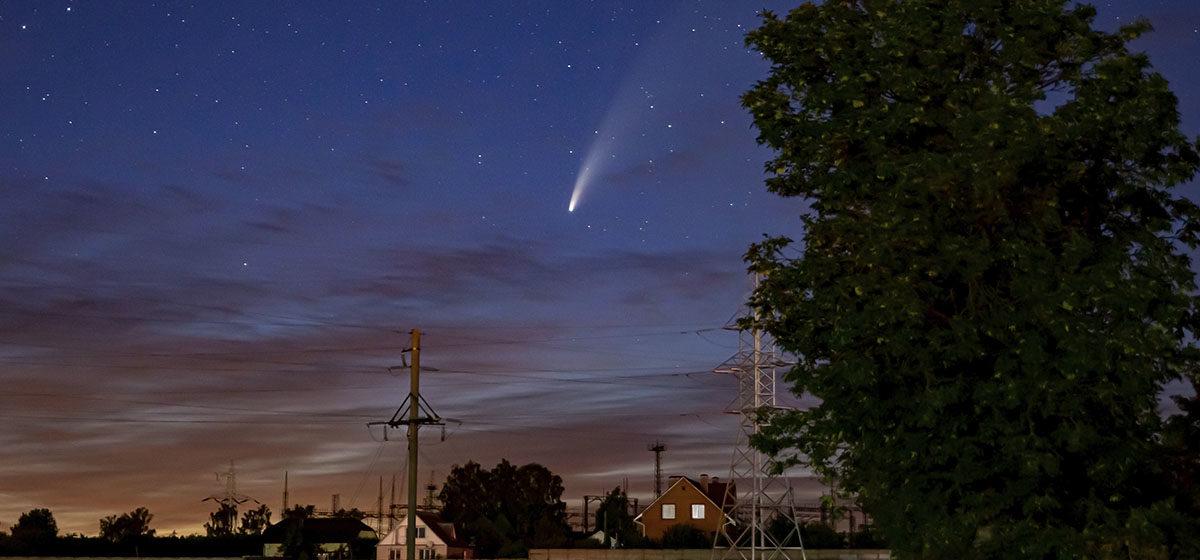 Не пропустите! В небе над Барановичами комета Neowise, которая прилетает к Земле раз в 6800 лет. Фантастические фото