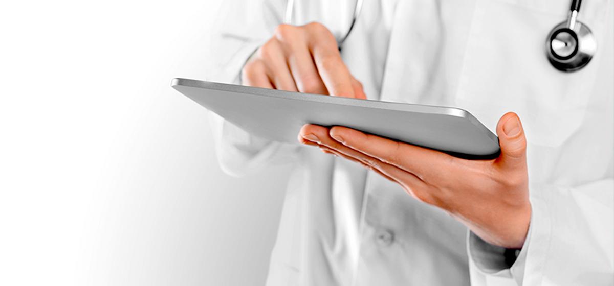 Планшеты с безлимитным интернетом передали медикам для обмена информацией с коллегами*
