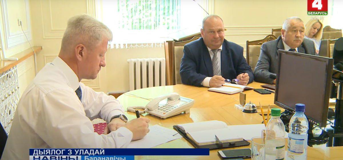 На что жаловались помощнику президента жители Барановичей