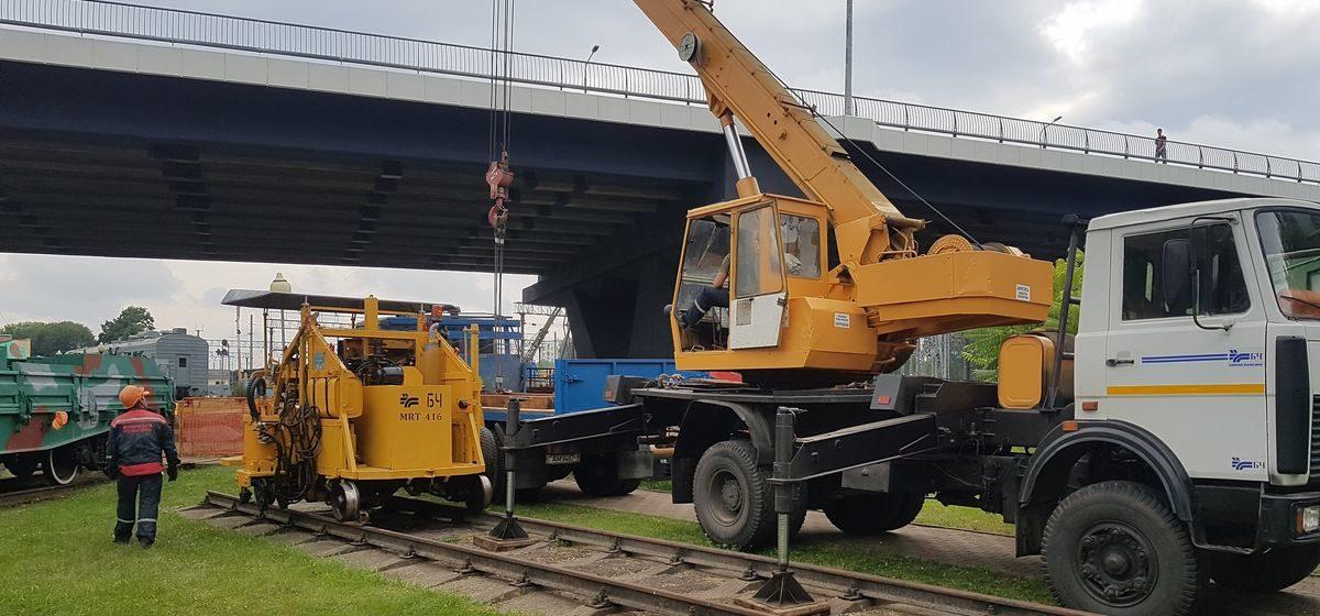 Новый экспонат появился в музее железной дороги в Барановичах