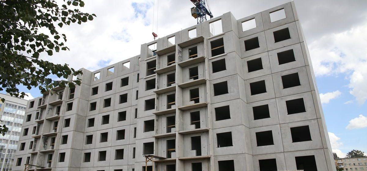 Сколько жилья построили в Барановичском регионе в первом полугодии 2021 года