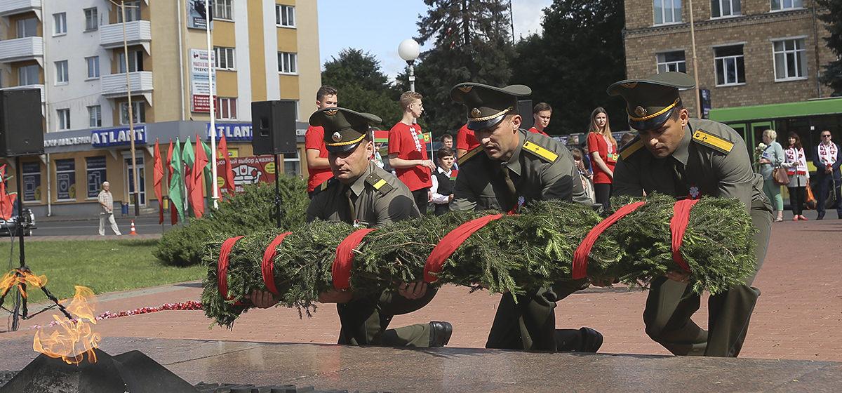 Как прошел митинг, посвященный Дню освобождения Барановичей