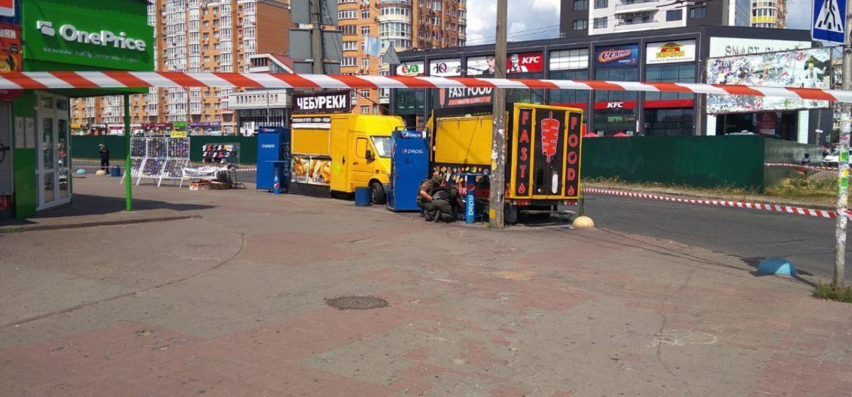 Две бомбы взорвали саперы в Киеве у метро «Минск»