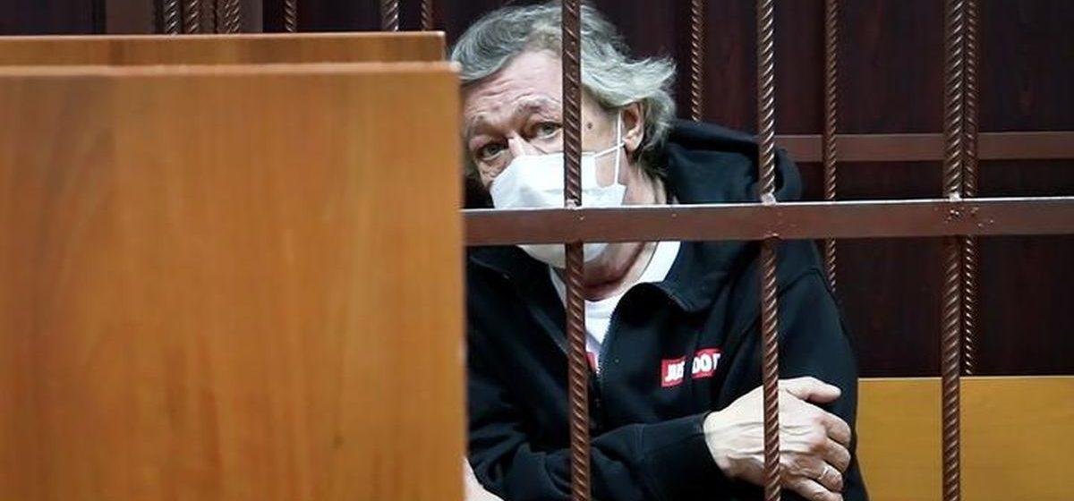 Михаил Ефремов заявил о невиновности в совершении смертельного ДТП