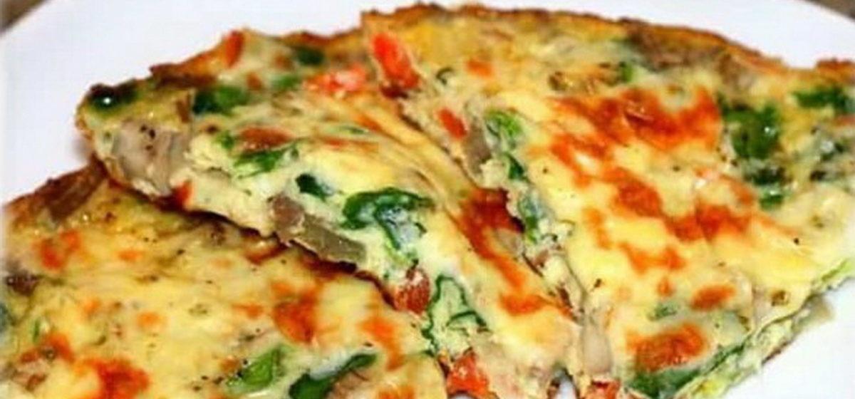 Вкусно и просто. Фриттата с зеленым луком и сладким перцем
