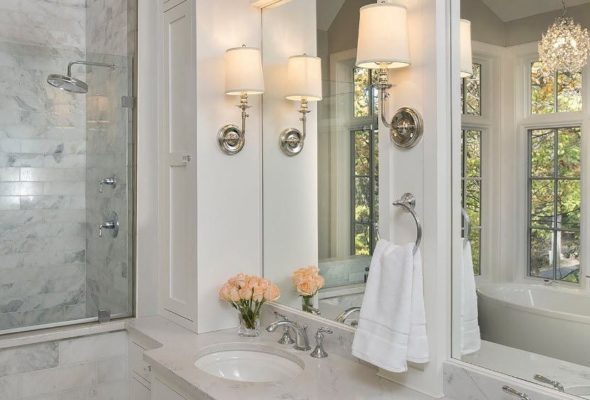 Ванная комната, оформленная по последним тенденциям