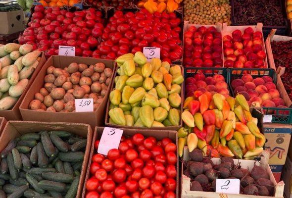 Что почем. На барановичском рынке подешевели картофель и дыни, появился редис