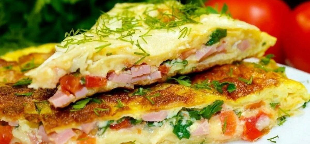 Вкусно и просто. Лаваш с сыром, колбасой и помидорами