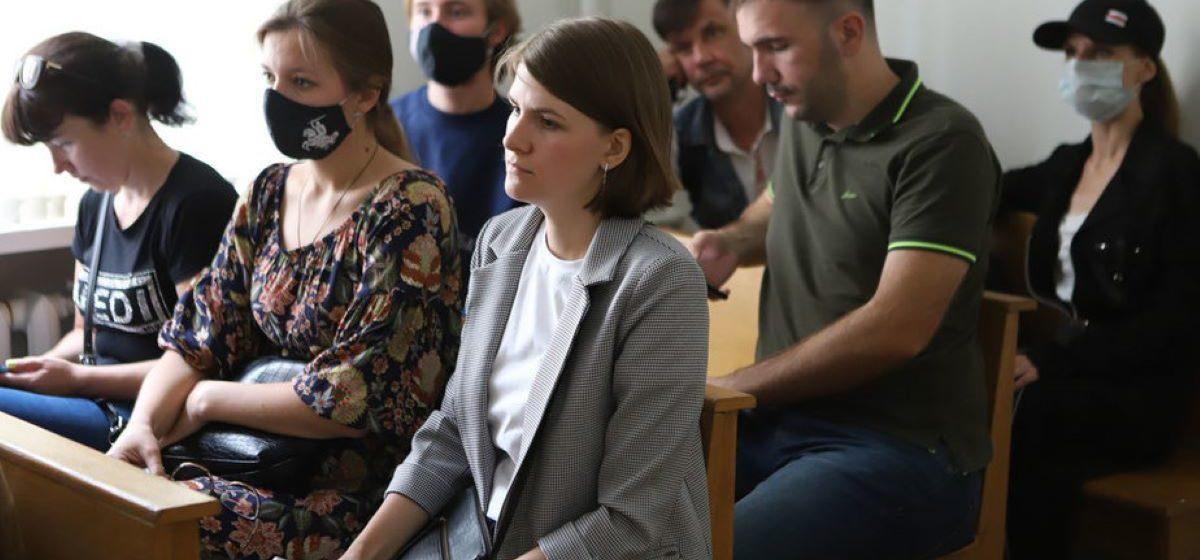 Павла Северинца осудили еще на 15 суток. Он за решеткой уже месяц