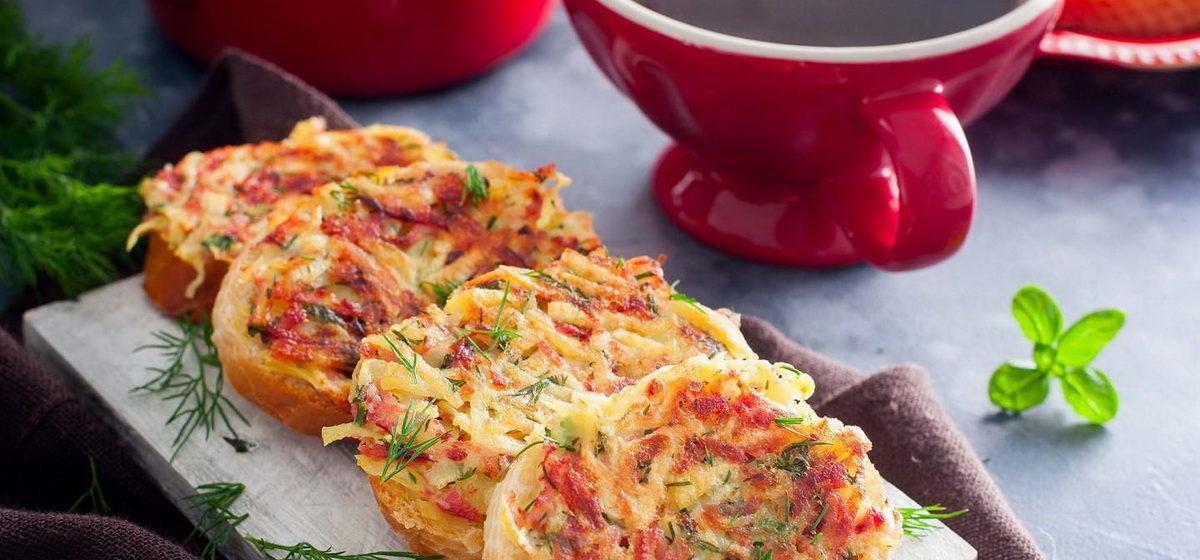 Вкусно и просто. Быстрые горячие бутерброды в духовке