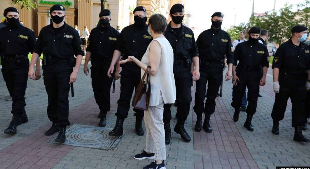 В МВД рассказали, сколько людей задержали в Беларуси на акциях протеста 26 октября