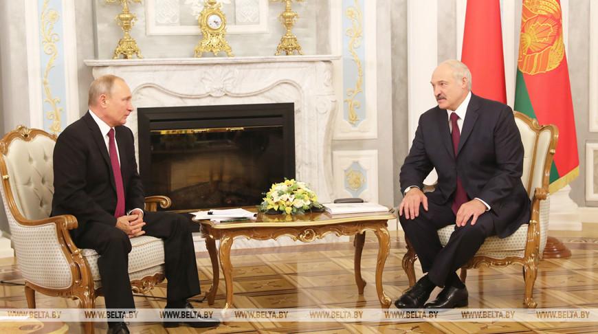 Путин позвонил Лукашенко по поводу задержанных «вагнеровцев»