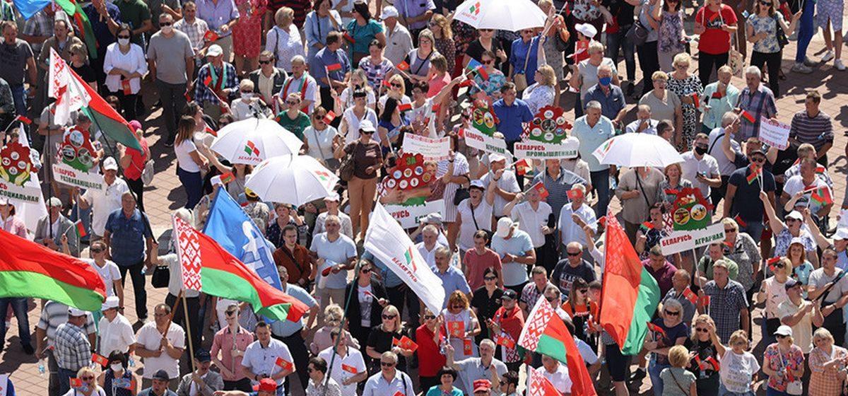 «Без него 90-е нам покажутся сказкой». Жители Барановичей – о том, почему они за Лукашенко