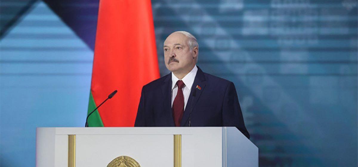 Лукашенко во время обращения заявил об еще одном отряде боевиков, переброшенных в Беларусь