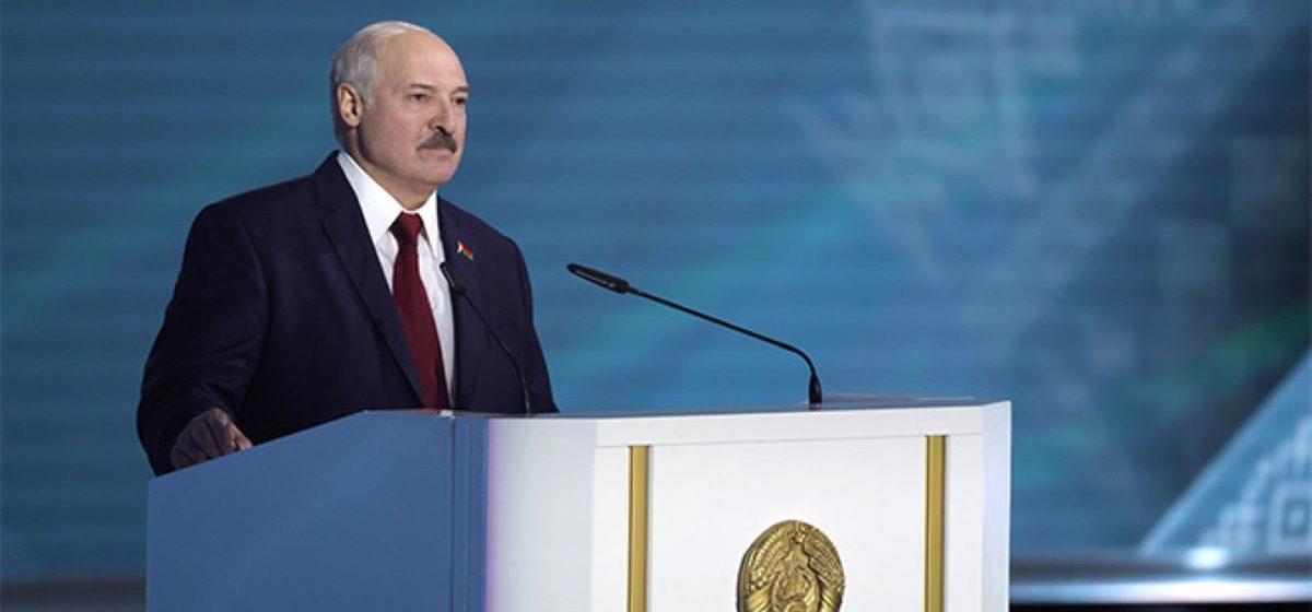 «Мы не можем обзывать всех, кто нам не нравится, шлюхами и проститутками». О чем говорил Лукашенко во время послания депутатам и народу. Коротко
