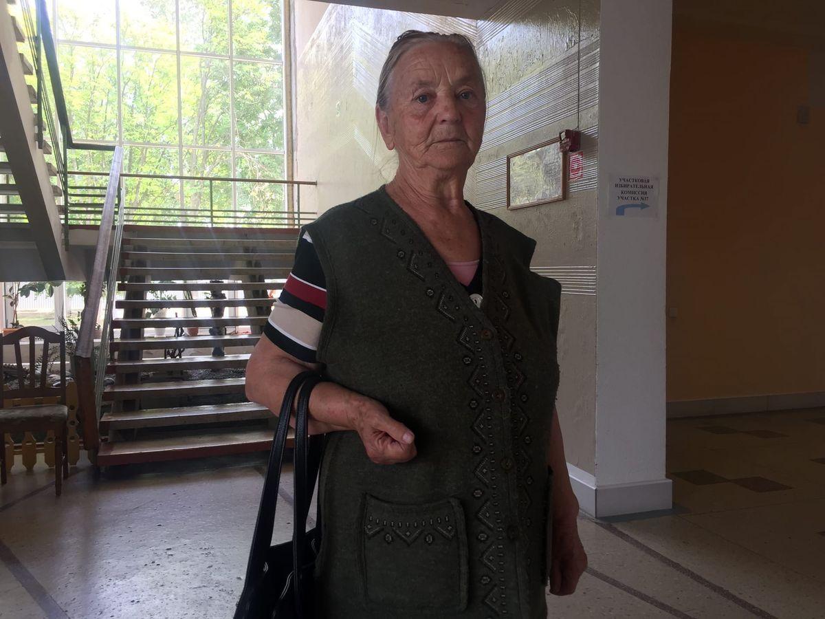 Пенсионерка Анна Владимировна. Фото: Диана КОСЯКИНА