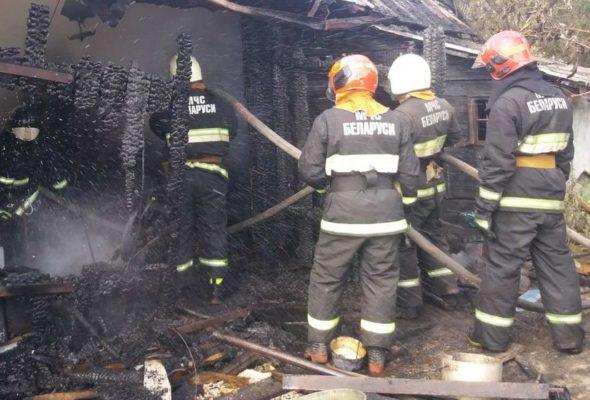 Три пожара произошло за прошедшие выходные в Барановичском регионе